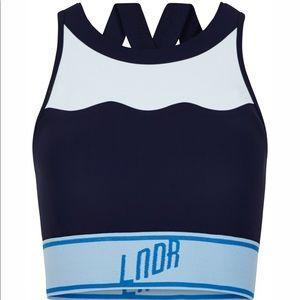 0c16c00f5a439 LNDR Intimates   Sleepwear - LNDR SWELL Sports Bra   Swim Bikini Top   Navy